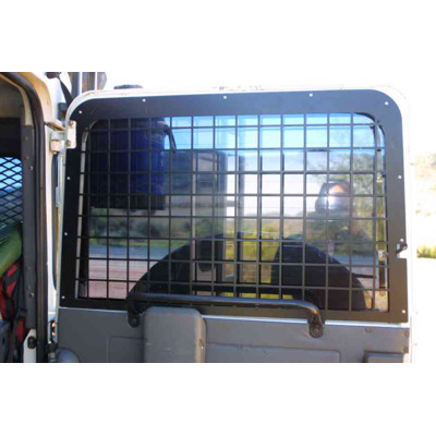 Defender internal rear door window guard