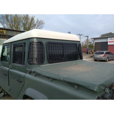 rear window guards Defender Truck Cab or Double Cab