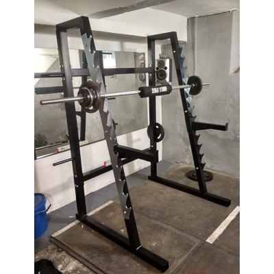 squat rack, multipress
